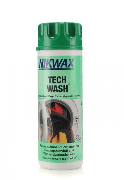 Nikwax Tech Wash - Einwaschbare Pflege für imprägnierte Textilien 300ml