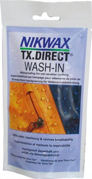 Nikwax Tx. direct Wash-in Einwaschbare Imprägnierung für Funktions- und Wetterschutzbekleidung 100ml