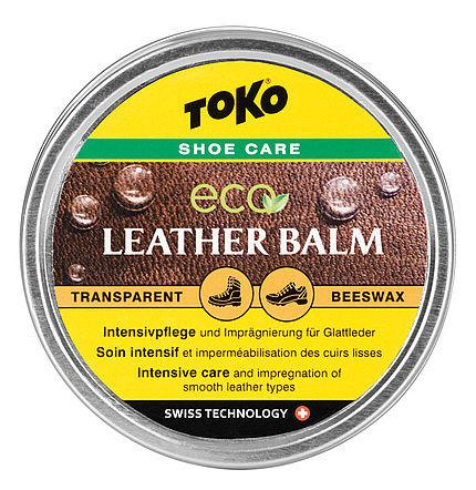 Toko Leather Balm Beeswax 50g transparent
